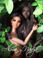 Nadja & Alma (davidbocci.es/refugiorosa) Tags: david fashion doll ooak alma barbie rosa refugio royalty mattel bocci nadja mueca