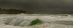 Take The Long Wave Home (rosiebondi) Tags: ocean storm bondi wave australia bronte