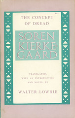 Princeton Paperbacks - Søren Kierkegaard - The Concept of Dread (swallace99) Tags: vintage philosophy paperback danish princetonpaperbacks