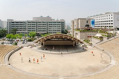 Seoul: Hanyang University (Seoul Korea) Tags: city asian photo asia capital korea korean photograph seoul kr southkorea   kpop  2015 republicofkorea hanyanguniversity wangsimni canoneos6d flickrseoul sigma2470mmf28exdghsm