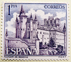 great stamp Spain 1pta  Alcázar de Segovia (Alcázar of Segovia, Castilla, Castile, Kastilien) sello Espana 郵便切手 切手  スペイン 西班牙 邮票 poštanske marke Španjolska frimærker Spanien Briefmarken poštovní známky razítka Španělsko timbres espagne γραμματόσημα Ισπανία (stampolina, thx ! :)) Tags: castle burg altstadt spanien spain espana cantabria španjolska španělsko espagne stamp stamps porto franco francobolli francobollo briefmarke briefmarken mapka marka friemerker postzegel zegel zegels postzegels sello selo sellos selos timbre poste postage timbres 切手 alcázardesegovia alcázarofsegovia castilla castile kastilien alcazar segovia violet violett purple 雪青色 violeta violetta purpur château قلعة 城堡 slot loss linna castelo κάστρο castello 城 성 dvorac pils castrum pilis kasteel slott قلعه zamek замок замак hrad grad castillo ปราสาท kale vár