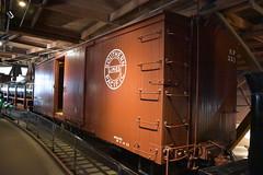 California State Railroad Museum (Adventurer Dustin Holmes) Tags: 2017 californiastaterailroadmuseum museum sacramentoca sacramentocalifornia california railroad train southernpacificlines traincar boxcar 331 sp331