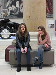 DECOrative girls (pivapao's citylife flavors) Tags: paris france trocadero indoors girl beauties