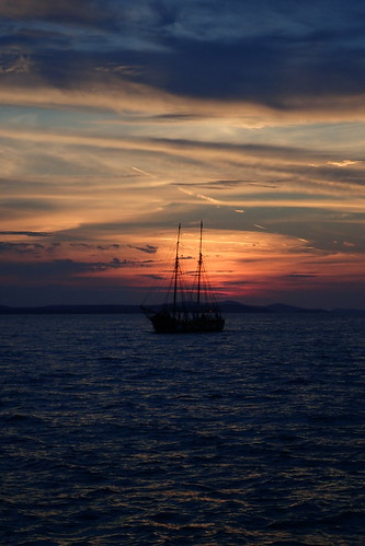 Zadar: Alfred Hitchcock sunset