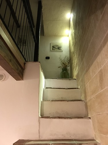 Stairs in Palermo Apartment