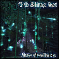 Orb Slime now available (Elicio Ember) Tags: slime mushroom alien cave fungi spores physical cerridwenscauldron elicioember secondlife