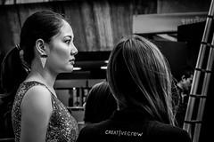 Candid Portrait | Bangkok 2016 (Johnragai-Moment Catcher) Tags: people photography portrait candidportrait asianfemale thailand bangkok bangkokstreet blackandwhite blackwhite momentcatcher monocrome olympus omd omdem1 omdsp johnragai johnragaiphotos johnragaistreet johnragaibw