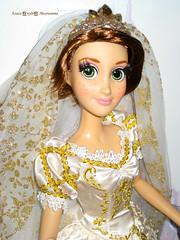 Limited Edition Disney Rapunzel Wedding Doll (vampirena13) Tags: wedding doll princess disney le limited edition rapunzel
