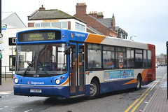 Stagecoach Cumbria & North Lancashire 22728 T728OEF (Will Swain) Tags: uk travel england west bus buses october britain north transport 4th lancashire cumbria carlisle stagecoach 2014 22728 t728oef
