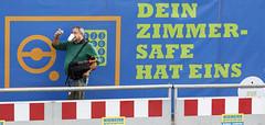Safe Photography (Richard Ricciardi) Tags: street berlin coffee hat germany deutschland photography photo photographer drink picture safety safe berlingermany safehat