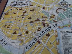 Place d'Espagne - Sville (2) (Valerie Hukalo) Tags: espaa espagne sville ville andalousie patrimoine hukalo valriehukalo sevilleoctobre2008