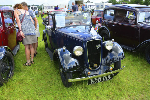 Woolpit Steam Rally, Classic Cars, Austin 7 Opal 1938