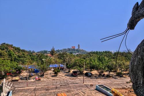 View from Wat Isukato