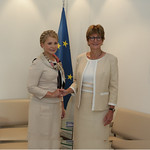 Tymoshenko and Anne Brasseur