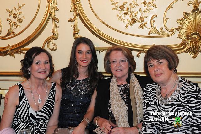 Alice & Ailis Irish Embassy - Apr 2014