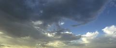 CRW_1305 (sir_mac_alot66) Tags: blue sunset sky nature yellow clouds fotografie himmel cielo fotografia fotografa   fotograph fotoraflk