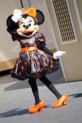 Minnie Mouse Special Halloween Dress!!! (sillyrach) Tags: street usa cats halloween promotion mouse dress time disneyland main cartoon disney mickey resort special event minnie walt promotional halloweentime