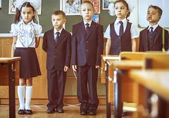 The first time at school (Ivan Bessedin) Tags: school kids knowledge teachers школа september1 1сентября учителя деньзнаний