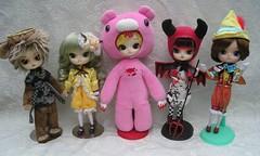 1 lucky member will win 1 of these dolls! (TrueFan) Tags: october doll contest dal acorn button gloomybear pinocchio 2014 monomono springpicnic nocchi disconsolate kanaria lipoca dalhouseforum