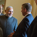 Speaker John Boehner welcomes Prime Minister Narendra Modi of India to the U.S. Capitol.