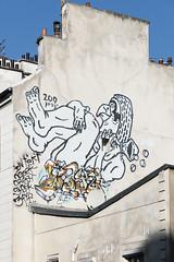 Zoo Project [2014] (Sbastien Casters) Tags: street streetart paris france art graffiti zooproject