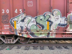 Host18 DYM (m_ts42) Tags: train graffiti tracks rail host graff 18 freight 41shots dym host18 host18dym