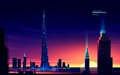 Romain Trystram - Burj Khalifa in Dubai