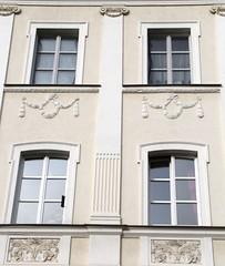 (:Linda:) Tags: window germany four town pillar garland thuringia wreath pilaster meiningen