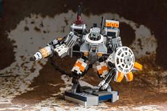 Crisis suit (TGBDZ) Tags: lego suit warhammer tau crisis mech moc
