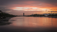 Puesta de sol Guadalquivir