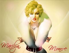 Marilyn Monroe (Meghindo) Tags: life white marilyn diamonds vintage hair fur coat fair blonde monroe second iconic niu tiffanys mental kaos 2014 akina neveah meghindo mentalkaos