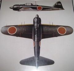 SDASM140 - WWII - Japanese - Mitsubishi A6M7 Model 63 Zero or Zeke - Fighter - 1939 (gberg2007) Tags: california usa museum fighter sandiego aviation unitedstatesofamerica wwii worldwarii zeke zero mitsubishi sandiegoairspacemuseum a6m7 model63