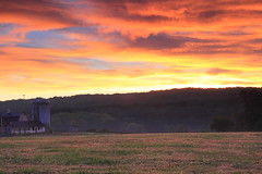 Rural Maryland, USA (YasH IMAGES) Tags: usa rural sunrise canon village farm country maryland harfordcounty 550d t2i sigma1750mm leendgrad