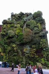 15,000 Plants from 250 Species (Jocey K) Tags: madrid sky people plants building clouds spain caixaforum archtiecture caixaforummuseummadrid