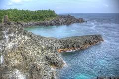 Jusangjeolli Cliff - HDR (GrandGazou) Tags: cliff island asia asie southkorea hdr jejudo coredusud jusangjeolli