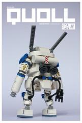 Ma.K I.M.A. S.A.F.S. Quoll (m_o_n_k_e_y) Tags: robot lego scifi mecha moc