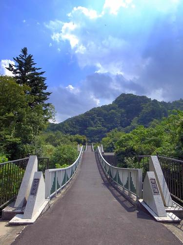 ヅウタ橋 笹川湖
