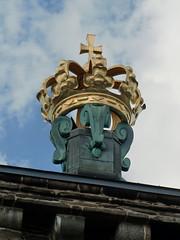The Crown Atop Skansen Kronan (Phil Masters) Tags: gteborg sweden gothenburg crown haga goteborg skansenkronan 20thjuly july2014