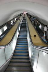Hwanggumbol  Station Pyongyang Metro (Ray Cunningham) Tags: underground subway metro north rail korea transportation pyongyang dprk  coreadelnorte