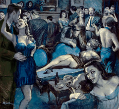 Casablanca's Impatient Women, Men i