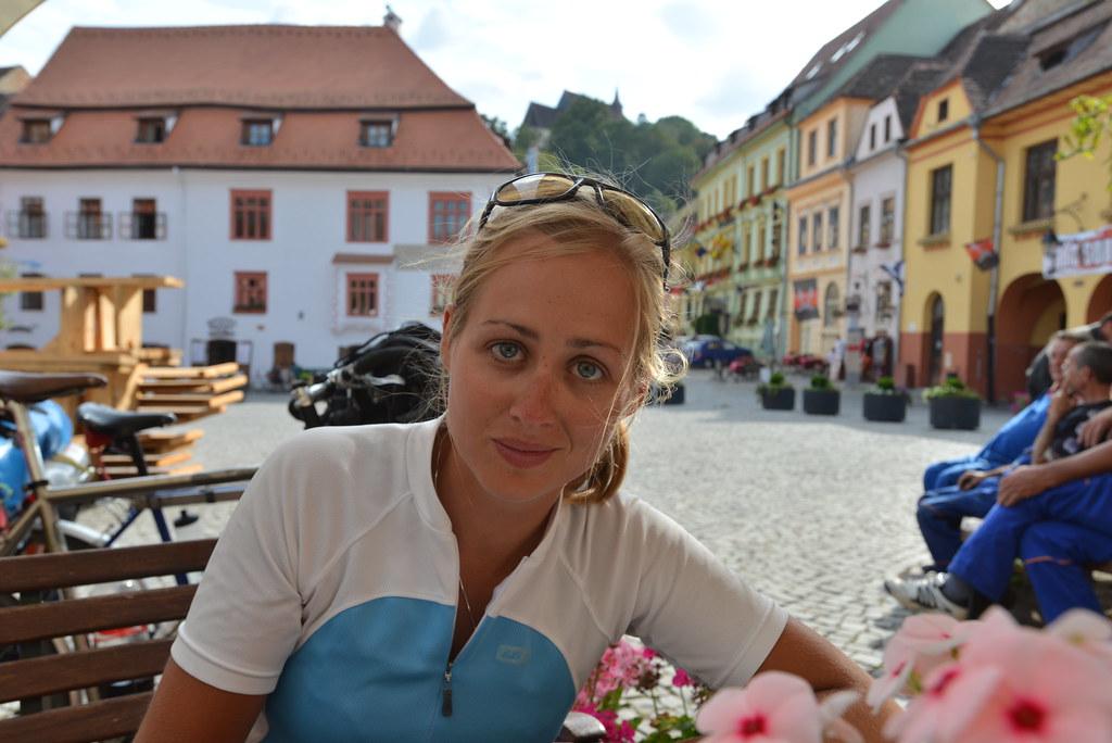 Claire in Sighișoara
