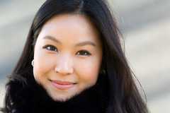 Jinjoo - Stranger # 947 / 1000 (Poupetta) Tags: woman beautiful stranger jinjoo southkorean