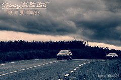 Moni 200 - Aiming for the stars (meepeachii) Tags: auto street france cars thanks clouds dark frankreich wolken 200 autos jagd follower danke düster verfolgung strase moni200 followerspecial
