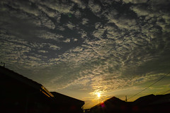 Sunrise 2014/10/01 (Junko S. Photography) Tags: sky cloud sun sunrise sigma merrill foveon dp1 dp1m dp1merrill
