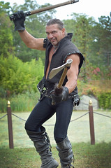 The Warrior (veadavies) Tags: warrior ax renaissancefaire tuxedony newyorkrenaissancefaire