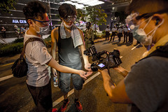 Tear smoke round shells (PingHei) Tags: umbrella hongkong chaos central revolution campaign occupy occupycentral