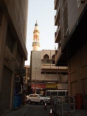 Dubai Street (goodbyetrouble) Tags: street dubai minaret uae gasse vae