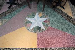 Terrazzo Star (jschumacher) Tags: vermont brattleboro terrazzo brattleborovermont terrazzofloor latchishotel