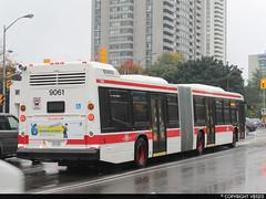 Toronto Transit Commission #9061 (vb5215's Transportation Gallery) Tags: toronto bus nova ttc transit commission artic lfs 2014