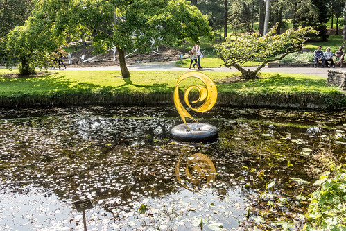 Unfurling By Anne McGill - Sculpture In Context 2014 Ref-1191